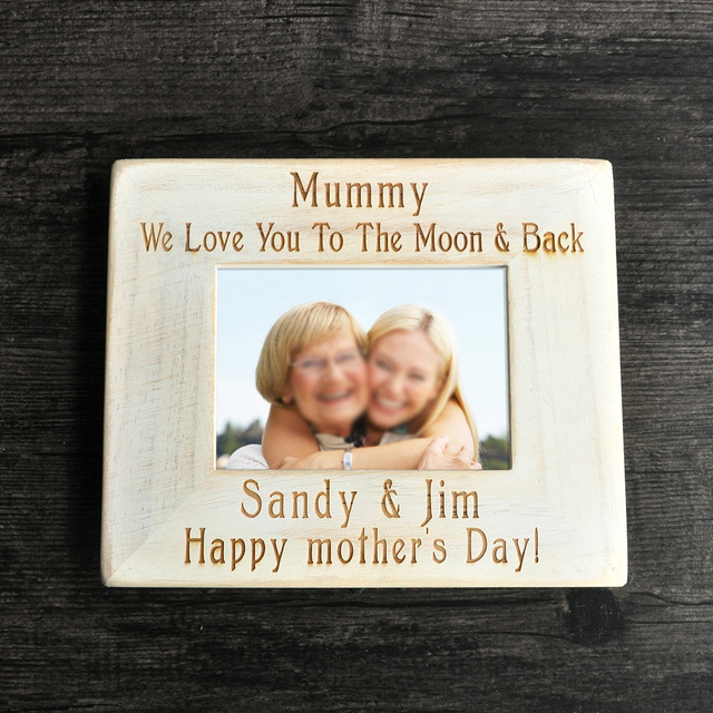 Mom Picture Frame, Custom Picture Frame , Wood Frame, Mother\'s Day ...