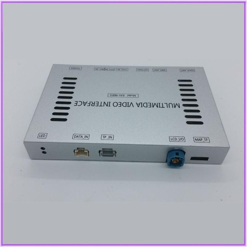 Interface vidéo de voiture DVDCamera pour 2013 mercedes-benz série ML Assistant de directives de stationnement intelligent