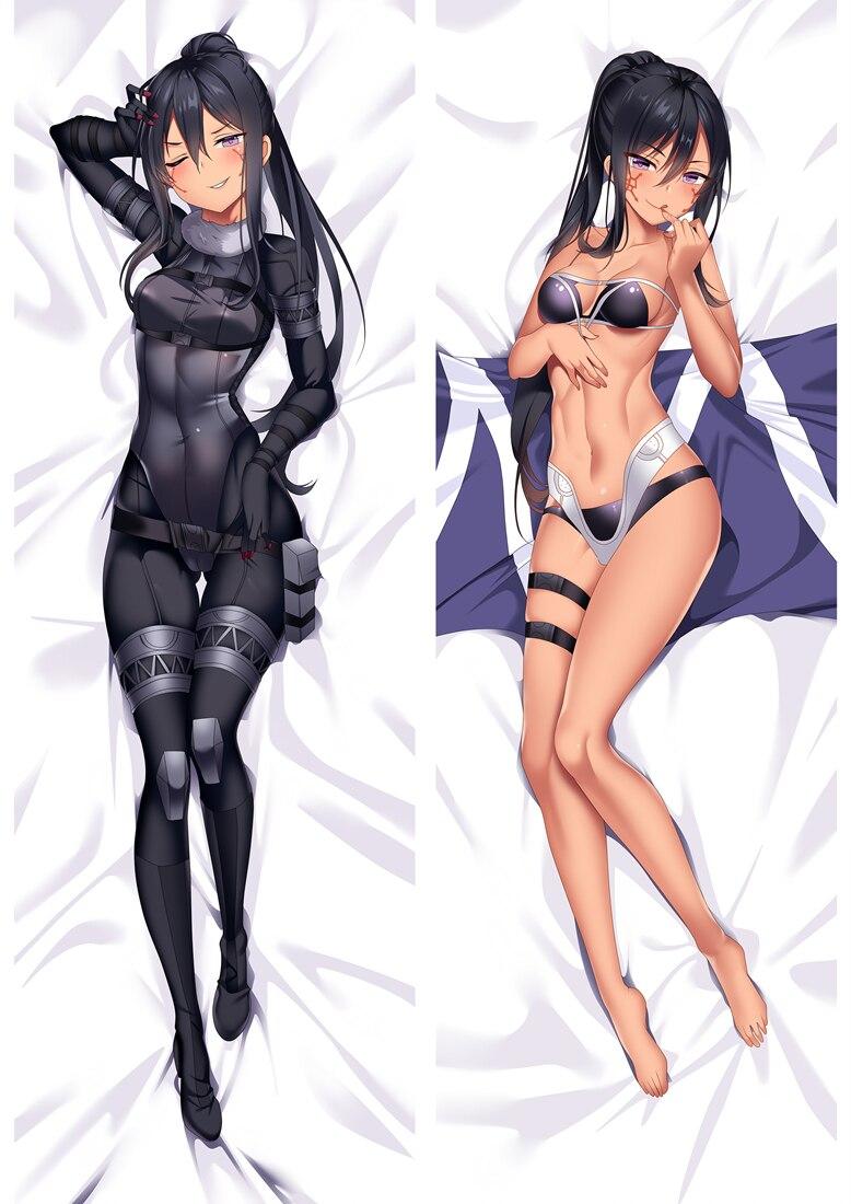 October Update Anime Sword Art Online Yuuki Asuna & Shinozaki Rika & Kirigaya Suguha Dakimakura Pillow Cover Hug Body Pillowcase