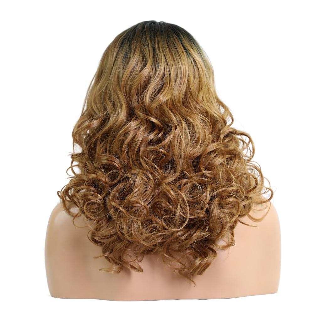 Στοιχείο 20 ιντσών μακρύ κυματιστό Lace - Συνθετικά μαλλιά - Φωτογραφία 4