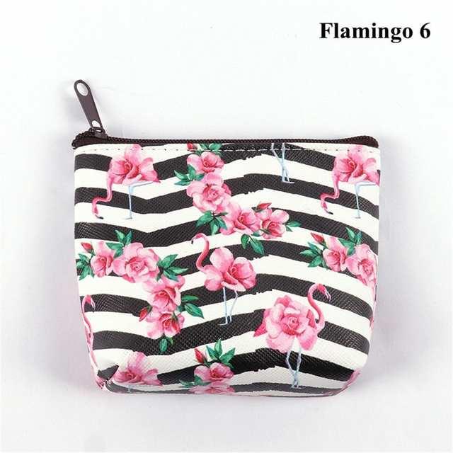Details zu Unicorn Flamingo Einhorn Geldbörse Münzen Mini Geldtasche Damen Kinder Geschenk