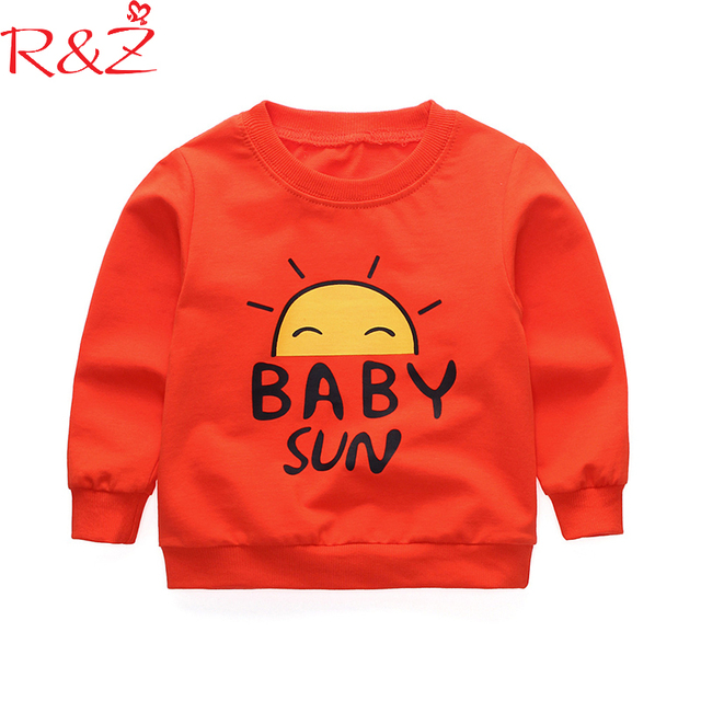 f1f3279a7 R Z Baby Boys and Girls Clothes 2018 Korean Cotton Letter Printing ...