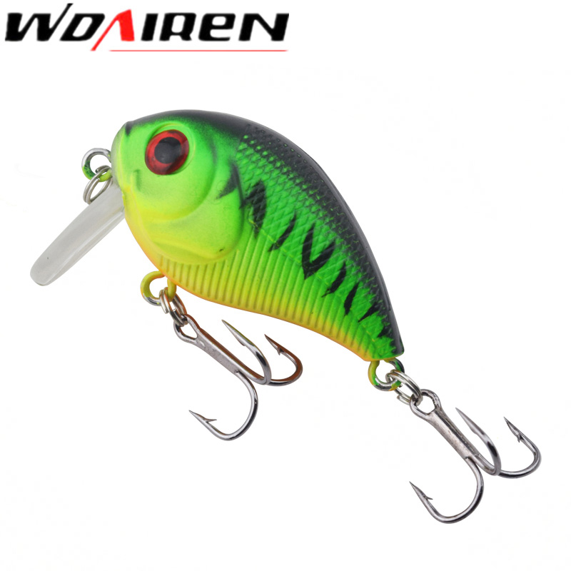 1Pcs wobblers Crank Bait 4.5cm 6.6g Fishing Lures Tackle Swim bait fishing japan Hard Crazy Bass Crankbait Fish Lure WD-424 crank bait plastic hard lures 38mm fishing baits crankbaits wobblers freshwater fish lure free shipment