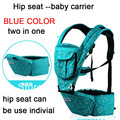 Nuevos portadores de bebé asientos de la cadera para el portador de bebé caliente-venta de tirantes CINTURA bebé Eslingas Carrier Envío Gratis