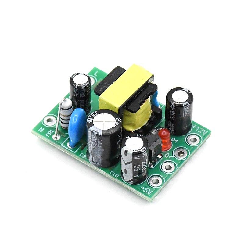 AC-DC 110-220 В импульсивный источник электропитания модуль AC-DC изоляции с входом и выходом 5 V/12 V/100mA/500mA