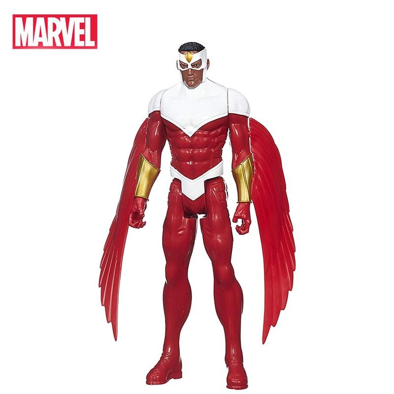 12''/30cm Marvel Avengers Captain America Civil War Falcon PVC Action Figure Collectible Model Dolls Gift Toy For Kids Children