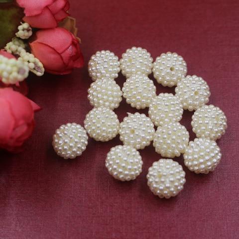 Купить бусины из абс пластика с имитацией жемчуга 10 30 мм