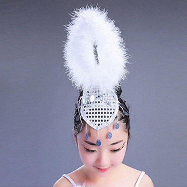 3cef455e4 Girls Little Swan Dance Skirt Tutu Costume Children White Ballerina ...