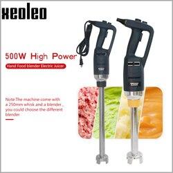 XEOLEO Portable Hand Blender Ice cream Blenders Immersion mixer Commercial Multifuncation Hand Food blender 500W Speed adjust