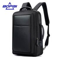 BOPAI New Designer Backpacks For Men Large Capacity Back Bag For Man Fashion Business Travelling Laptop