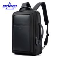 BOPAI New Designer Backpacks For Men Large Capacity Back Bag For Man Fashion Business Travelling Laptop
