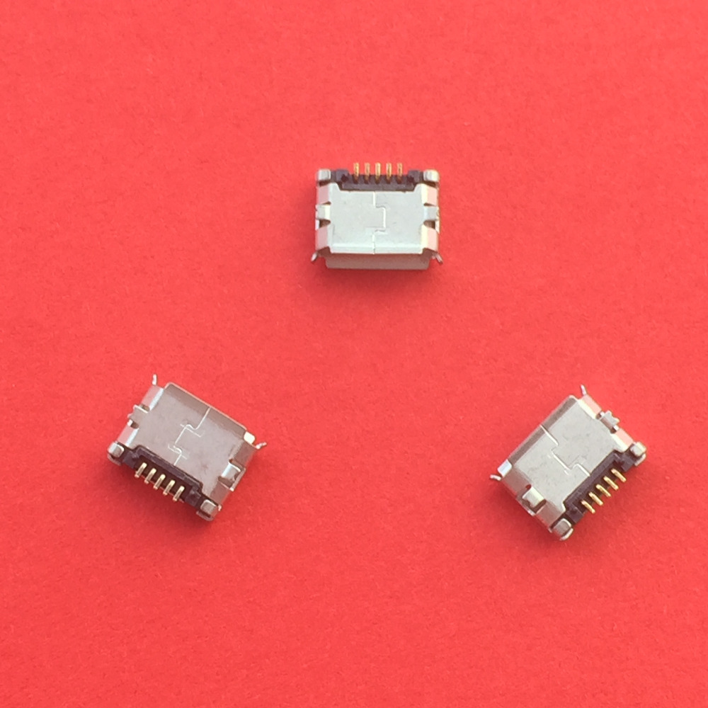 10pcs/pack G18Y <font><b>Micro</b></font> <font><b>USB</b></font> Type B Female 5Pin SMT Socket Jack <font><b>Connector</b></font> Port <font><b>PCB</b></font> Board Charging Sale at a Loss image