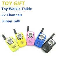 מכשיר הקשר 2pcs סיטונאות ילדים מיני ילדים UHF מכשיר הקשר BF-T3 Baofeng FRS שני הדרך רדיו Comunicador T3 Handy Talkie משדר Hf (5)
