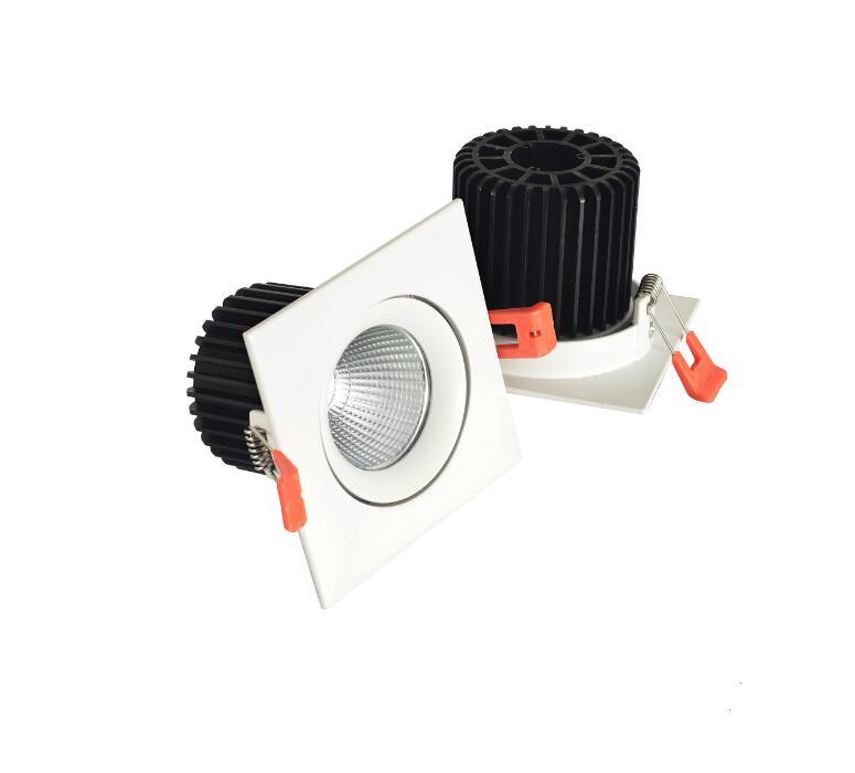 2016 Новый Лидер продаж светодиодный встраиваемый светильник 12 Вт обломок удара светодиодный потолочный светильник пятно света лампы белый/...
