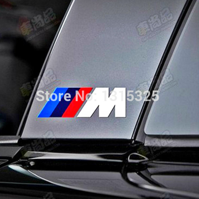 Aliauto X New Style M Logo Whole Body Stickers Brake Calipers - Bmw brake caliper decals