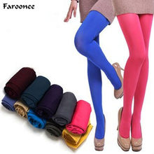 Faroonee Women Candy Color Stockings Spring Summer Stretch Tights Sexy Hosiery Female Pantyhose 2018 Seamless Stockings S202(China)