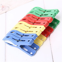 D-2 High Cost-Effective Set of 8 Beach Towel Clips in Fun Bright Prevents Towels Blowing Away