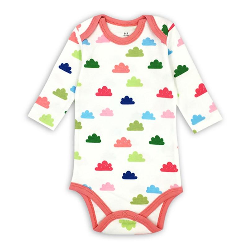 newborn bodysuit baby babies bebes clothes long sleeve cotton printing infant clothing pcs   Months