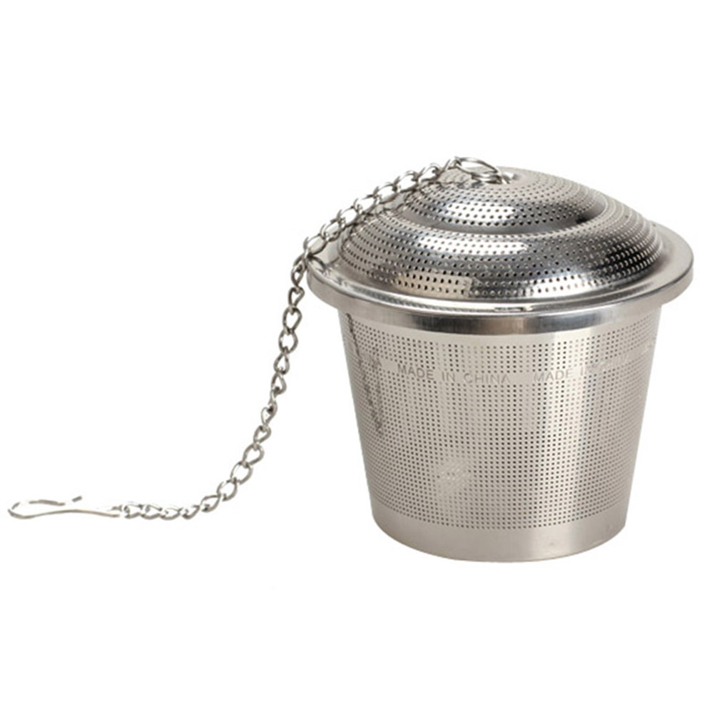 304 Stainless Steel Tea Mesh Ball Herbal Infuser Tea Strainer Filter SKD88