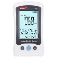 UNI T A37 Digital Carbon Dioxide Detector Laser Air Quality Monitoring Tester CO2 Detection 400PPM~5000PPM For Home