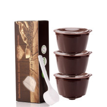Refillable Coffee Capsules Refilling More Than 200 Times Reusable Coffee Pods for Nescafe Dolce Gusto Brewers(China)