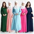 Malásia Muçulmano Mulheres Islâmicas Abaya peru Vestido lace manga comprida vestidos de fotos roupas jilbab turco mulheres roupas burka feminino