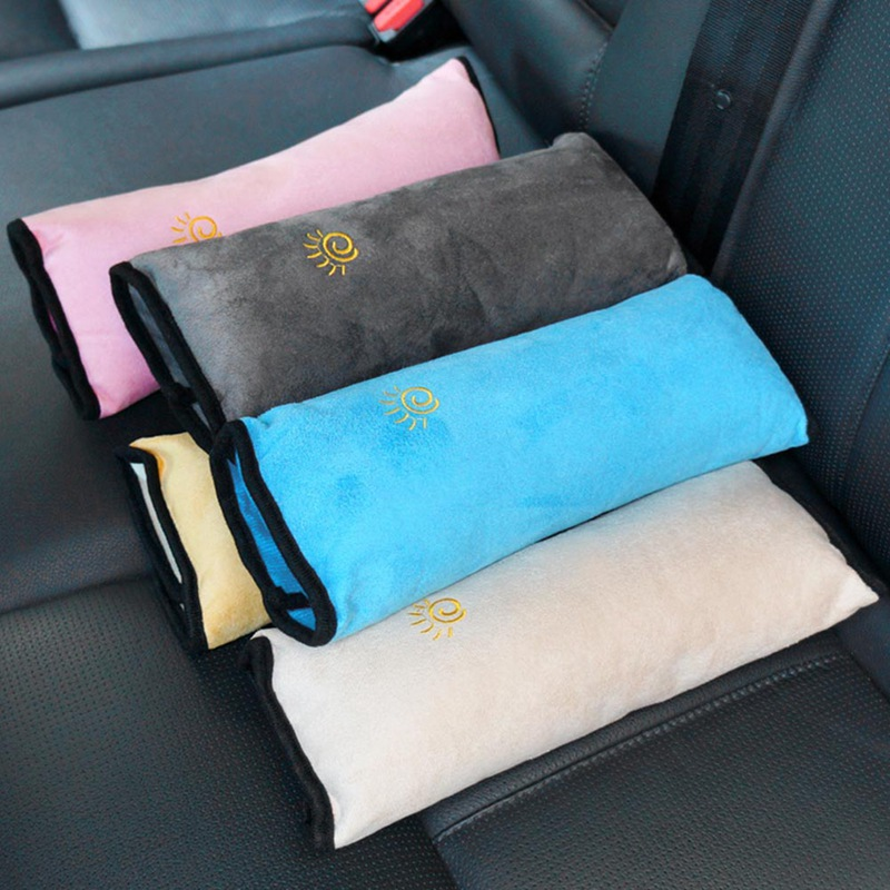 Baby Car Auto Safety Seat Belt Harness Shoulder Pad Cover Children Protection Car Pillow Seat Belts