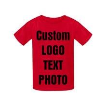 Пользовательская летняя хлопковая футболка топы для подростков