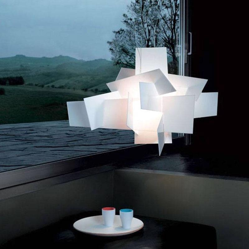 New Designer Foscarini Big Bang Suspension Pendant Light Lamps 65cm Acrylic Pully Lighting Fixtures For Living Room Restuarant