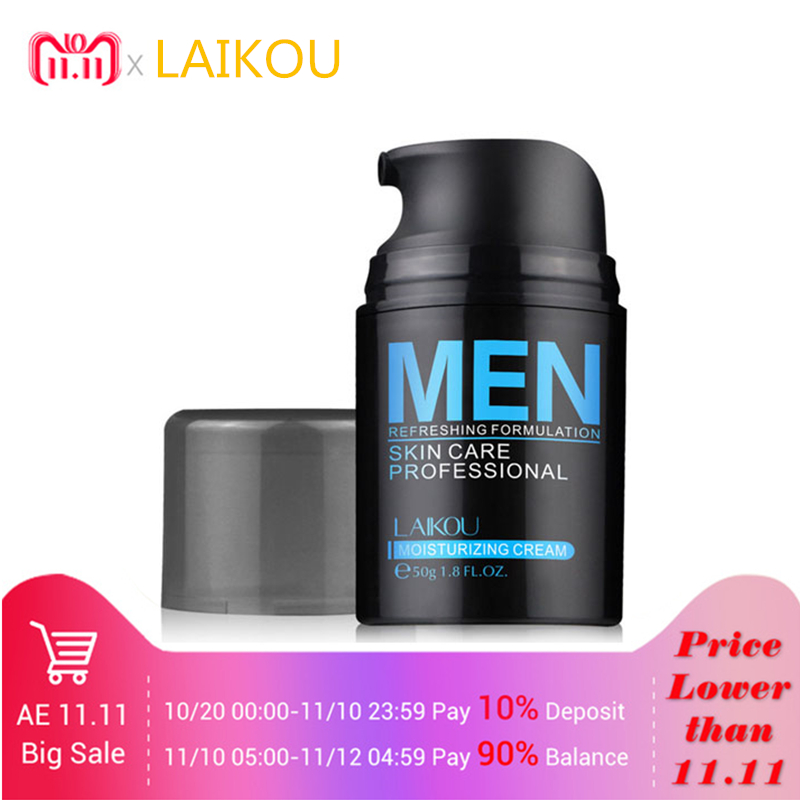 LAIKOU Anti Wrinkle Anti Aging Men Nourishing Skin Care Whitening Moisturizing Remove Acne Cream Oil Control Day Cream цена