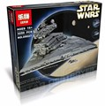 2016 Новый ЛЕПИН 05027 3250 Шт. Star Wars Imperial Star Destroyer Модель Строительство Комплект Блоки Кирпичи Совместимые Игрушки 10030