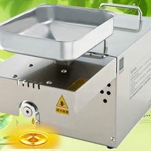 Пресс для масла ersSmall коммерческий автоматический бытовой Масляный Пресс в большая, из нержавеющей стали арахиса маленькая жарочная машина