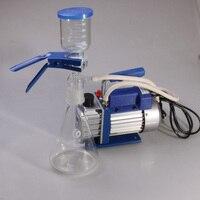 RS 1 1000ml Vacuum Pump Sand core filtrating equipment pickup pum Filter membrane solvent filter Mini portable vacuum pump