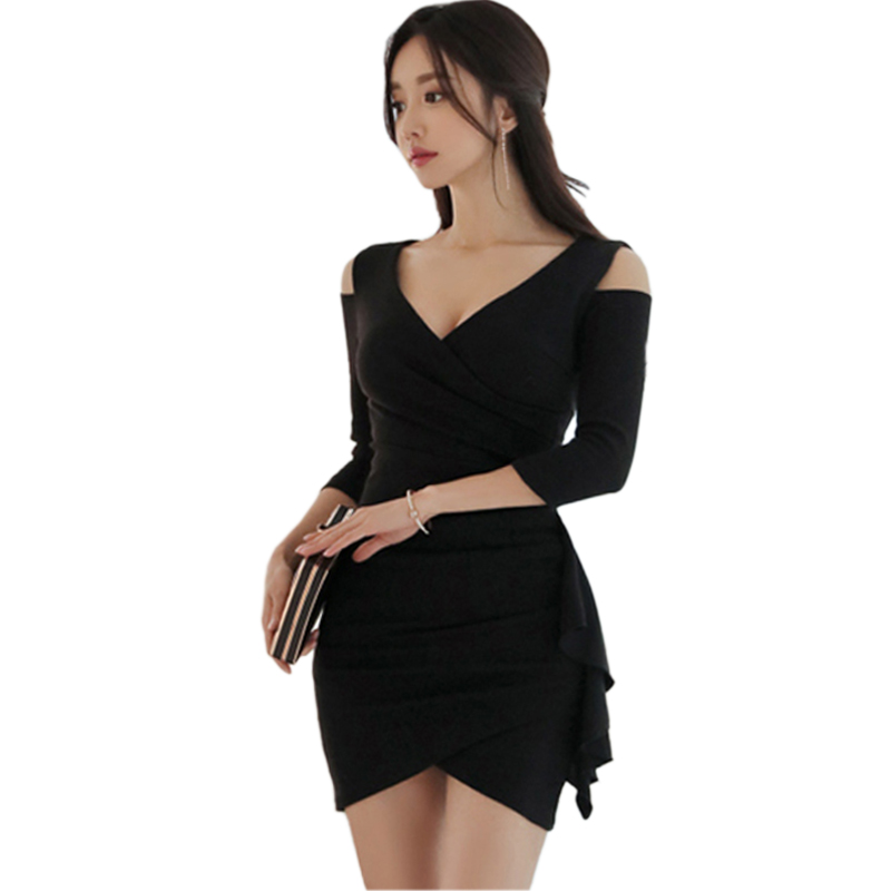 efc54bde18e top 9 most popular korean ruffle hem mini dress brands and get free ...