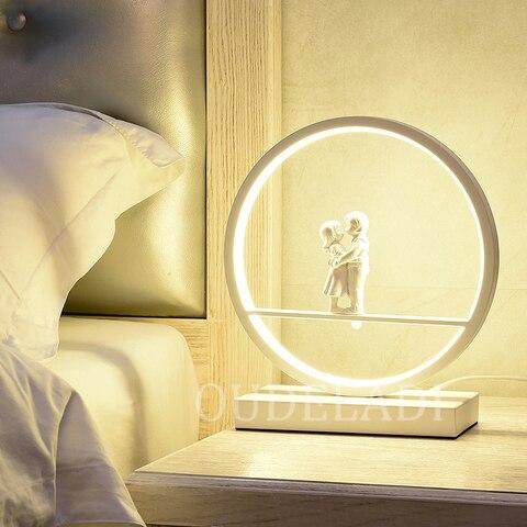 lampada mesa com controle remoto escurecimento