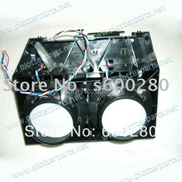 Q1273-60257 Q1273-60048 Vacuum fan assembly for the HP DesignJet 4000 4500 4020 4520 plotter parts