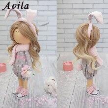 Новые DIY Мини трессы 20*100 см кукольный парик большая волна высокотемпературный материал парик для BJD аксессуары для кукол