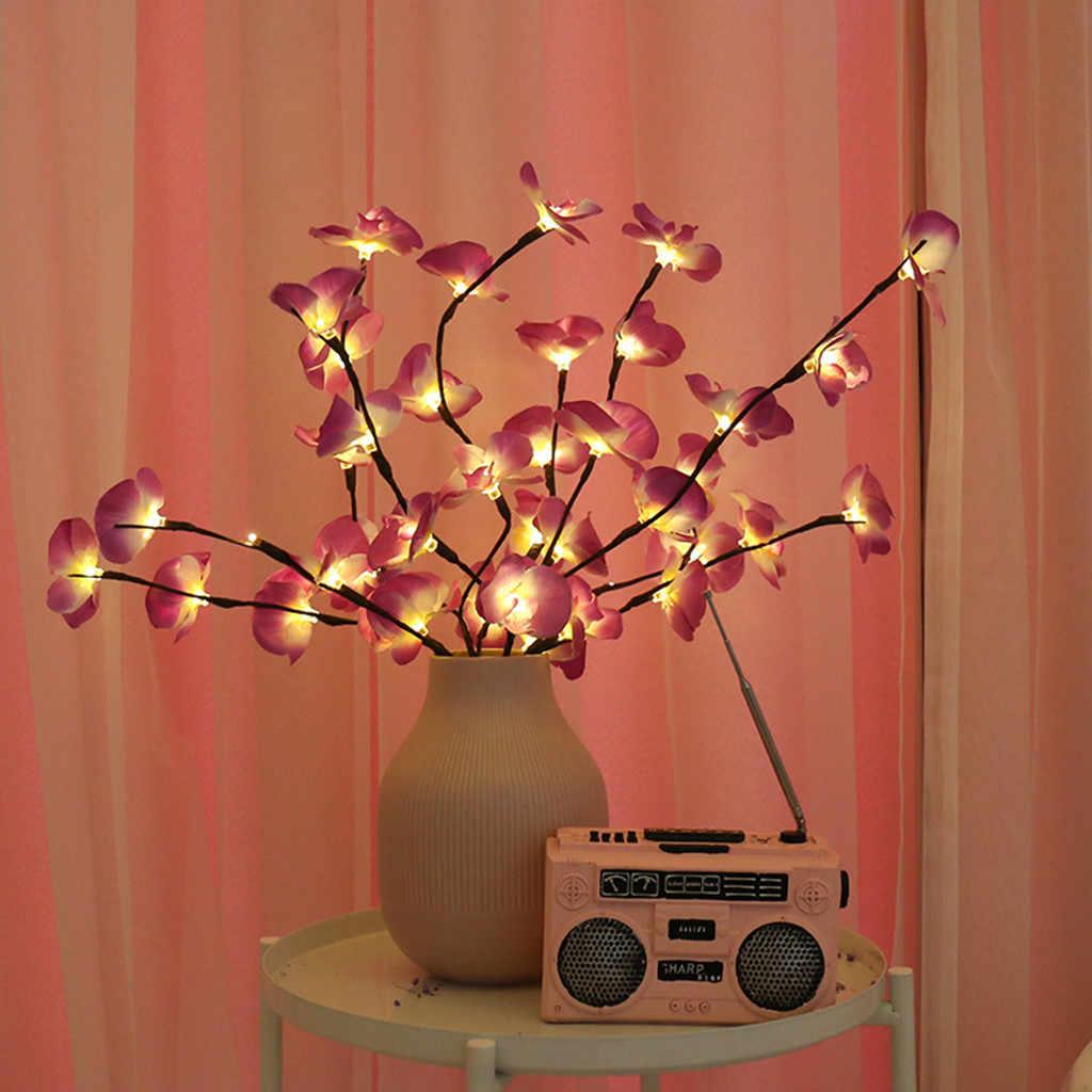 Led Willow Tak Lamp Batterij Aangedreven Natuurlijke Bloemen Hoge Vaas Filler Wilgentakje Verlichte Tak Voor Home Decoration #30