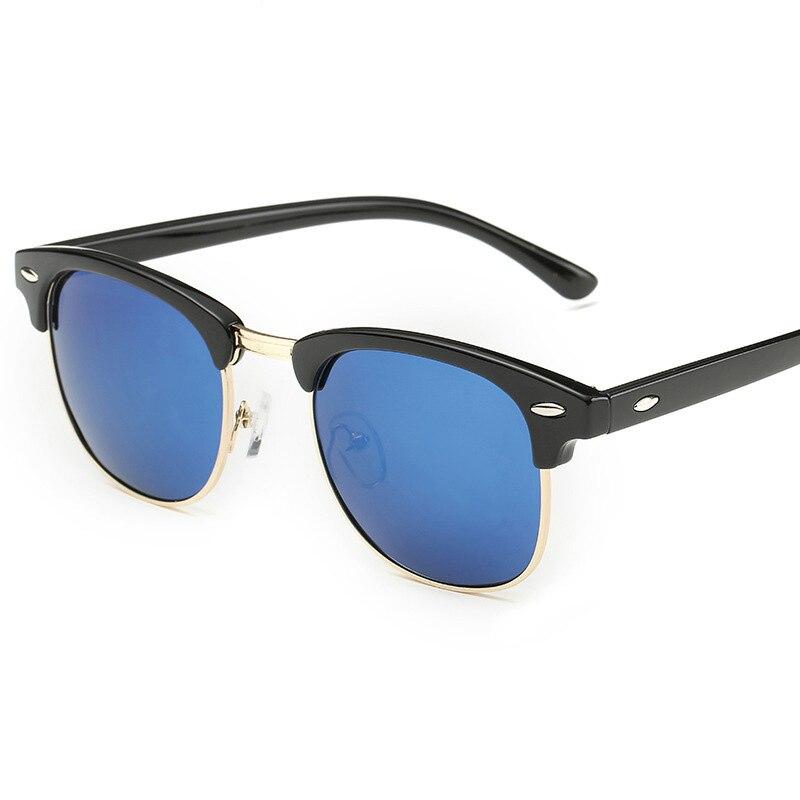 SOZO TU Retro Club Sunglasses Women Men Brand Designer Rimless Club Round Sun Glasses UV400 Oculos De Sol hawkers gozluk
