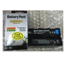 NP-F750 NP-F770 Lithium Batteries For LED Flash light battery F750 NPF770 Digital video camera battery For Sony CCD-TRV58 HVR-Z1