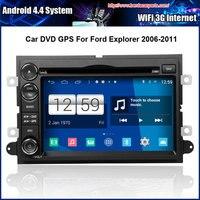 4.4.4 Android 1024*600 Tela Capacitiva Carro DVD Para Ford Fusion Explorador 2006-2011