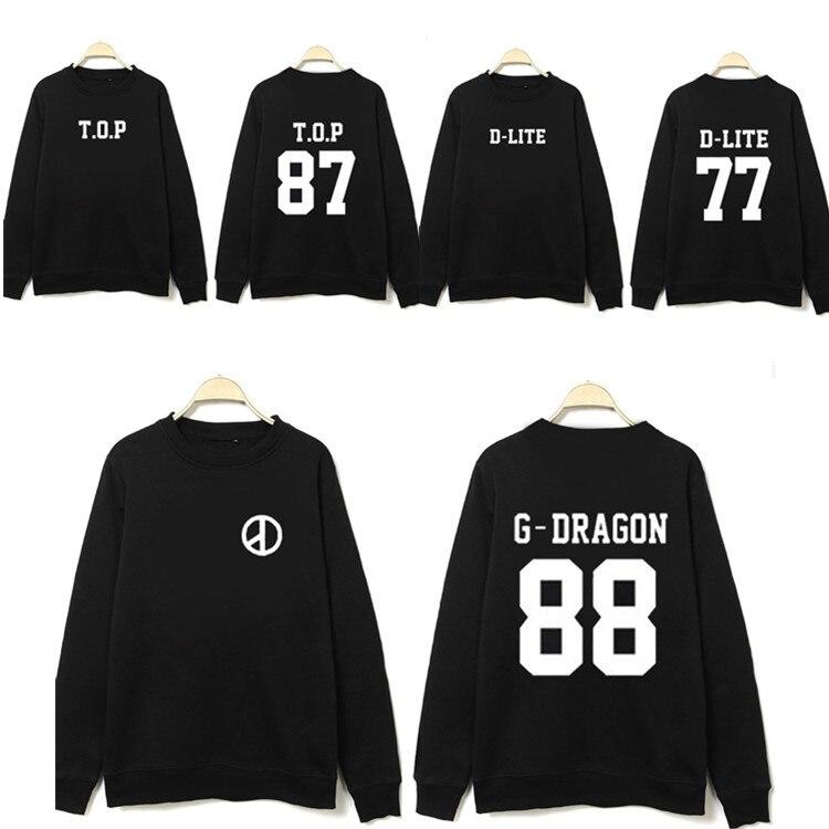 K pop kpop ropa Bigbang big bang GD perifrica ronda cuello Coreano pareja  suelta sudadera exo kpop hoodiebig bang kpop noticias a208e056171