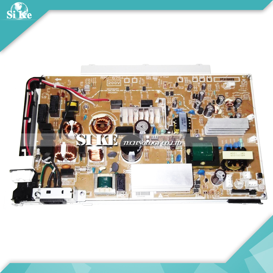 LaserJet  Engine Control Power Board For HP CP5525 CP 5525 Voltage Power Supply Board RM1-6754 RM1-6753 free shipping 100% test original for hp4345mfp power supply board rm1 1014 060 rm1 1014 220v rm1 1013 050 rm1 1013 110v