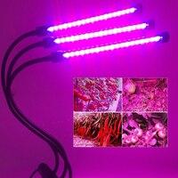 Plants Growth Light Full Spectrum USB 18W Clip Lamp Indoor Vegetables Flower Light Strip Hydroponic Greenhouse Plant Plant Lamp|LED Grow Lights|   -