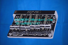 free shipping new 4 strings electric bass guitar bridge  in chrome   L6
