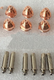 After Market Thermal Dainemics 9-5633 Electrode 9-5631 Tip 100pcs 10-60A For PCH-51 PCM-51 Plasma TorchAfter Market Thermal Dainemics 9-5633 Electrode 9-5631 Tip 100pcs 10-60A For PCH-51 PCM-51 Plasma Torch