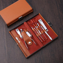 20Sets Nails Clipper Kit Nail Care Set Pedicure Scissor Tweezers Knife Ear pick Utility Manicure Set Tools F2392
