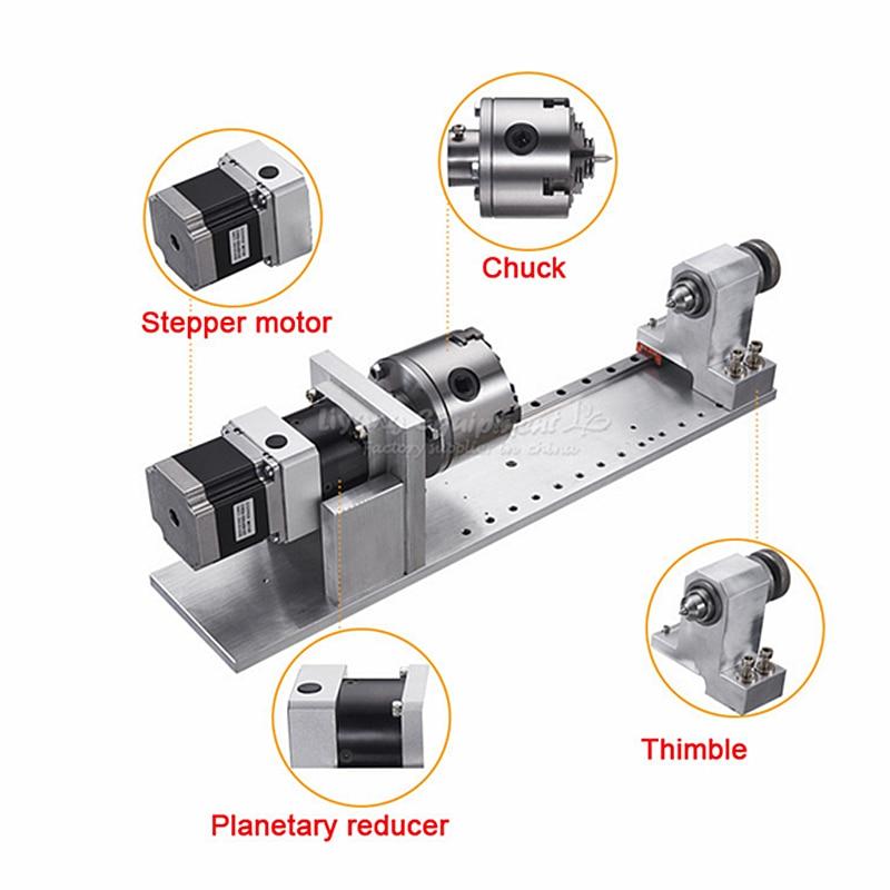 Planetary engraving machine 4th axis reducer rotating shaft A axis CNC dividing head machine