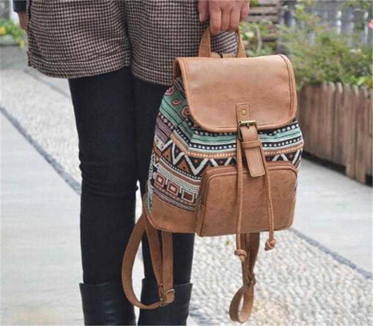 Mustrilised väiksemad seljakotid