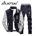 Spring Youth Leisure Suit Men 2017 Zipper Hoodies&Sweatshirts With Pants Casual Suits For Men Plus Size 4XL Male Tracksuit